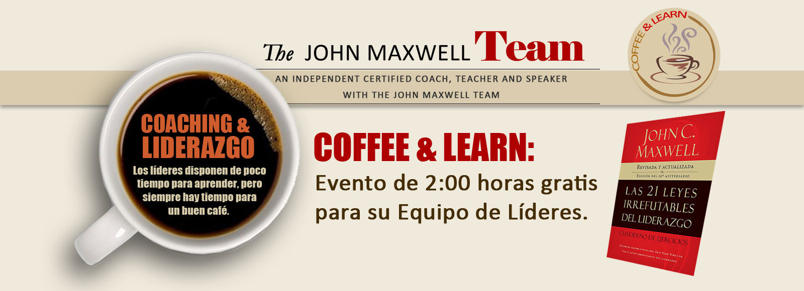 Coffee & Learn Gratis